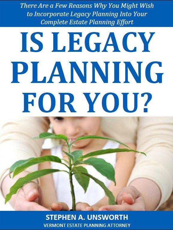 Is Legacy Planning for You