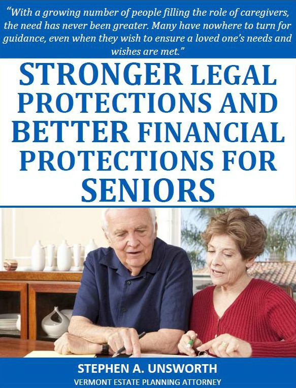 Stronger Legal Protections and Better Financial Protections For Seniors