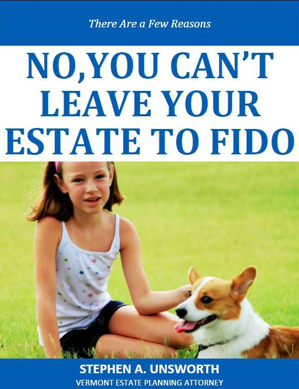 No, You Can't Leave Your Estate to FIDO