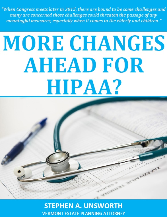 More Changes Ahead for HIPAA